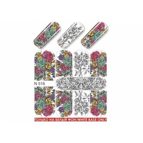 Купити Слайдер дизайн для нігтів N 516