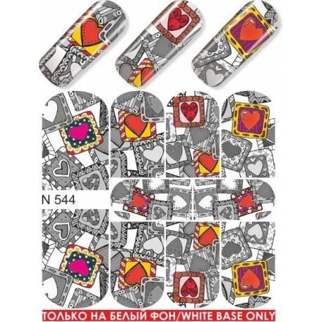 Купити Слайдер дизайн для нігтів N 544