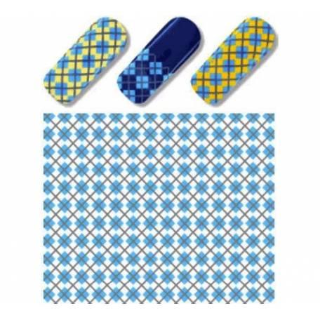 Купити Слайдер дизайн для нігтів S 135 Блакитний