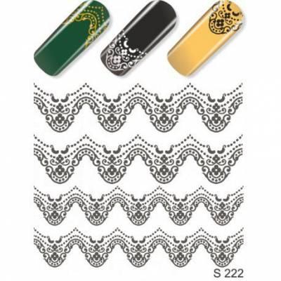 Слайдер дизайн для нігтів S 222 Сірий