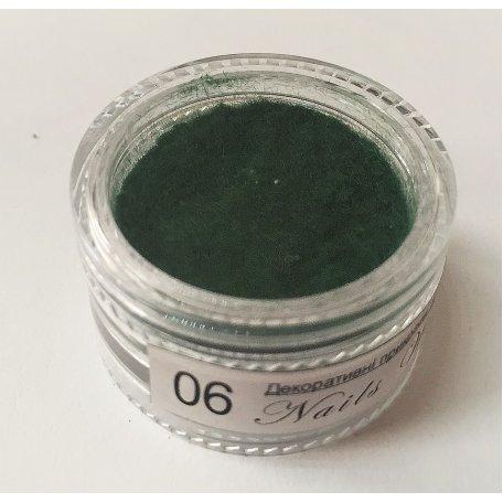 Купити Кашемір Nail World №06 (зелений)