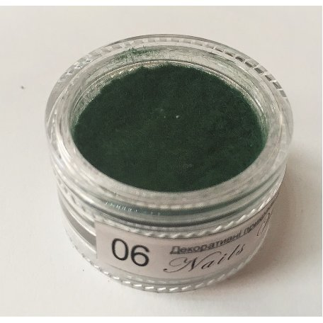 Кашемир Nail World №06 (зеленый)