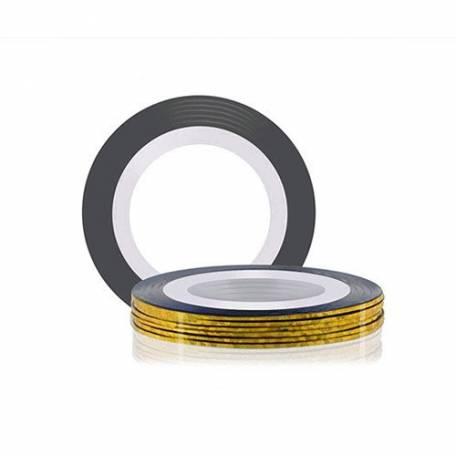 Купити Стрічка для дизайну нігтів Нитка-фольга Y. R. E. Золото голографічне