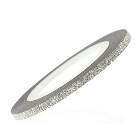 Купити Цукрова нитка для нігтів Y. R. E. 0,6 мм срібло