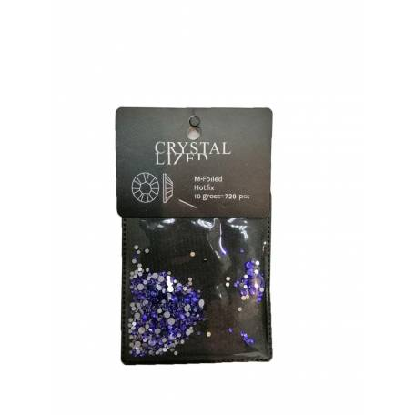 Купить Стразы Y.R.E. Crystal LI7 FD Синие микс размеров 720 шт