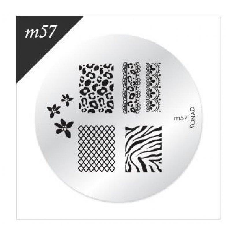 Диск для стемпинга Konad М 57 купить интернет-магазине Nailsmania.ua с бесплатной доставкой по Украине.