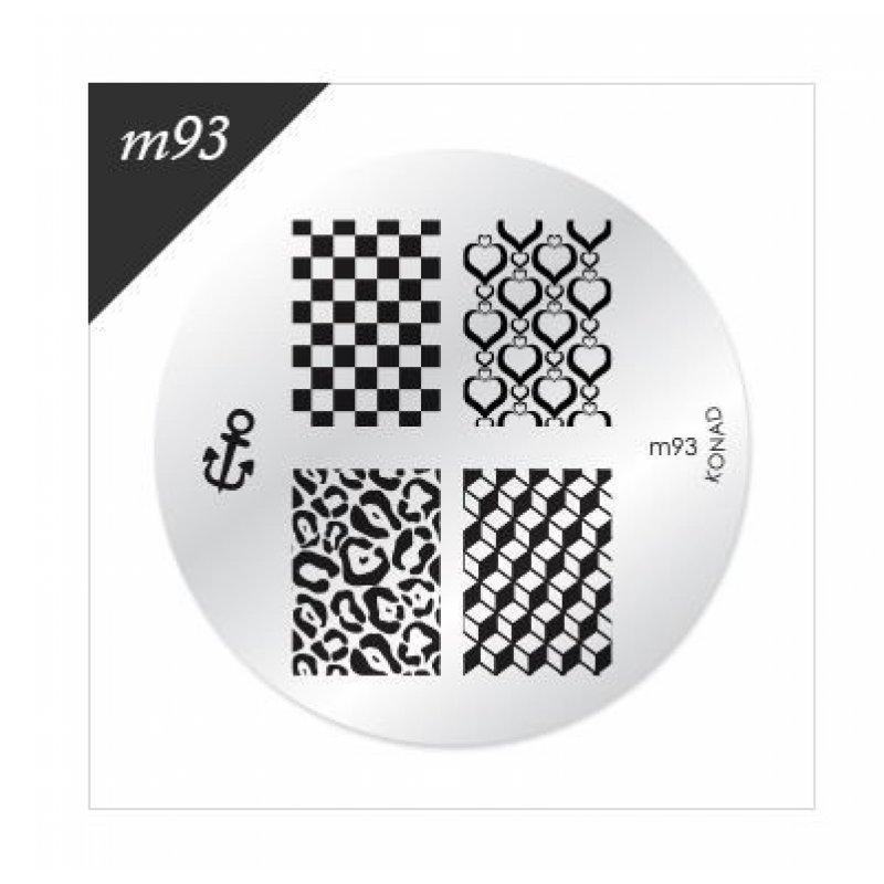 Диск для стемпинга Konad М 93 купить интернет-магазине Nailsmania.ua с бесплатной доставкой по Украине.