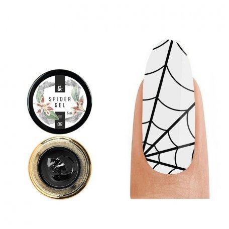 Купити Гель-павутинка F.O.X. Spider Gel 002 (Чорний), 5 мл