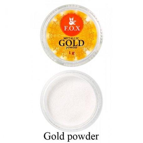 Купити Дзеркальна пудра F. O. X (золото) 1 р