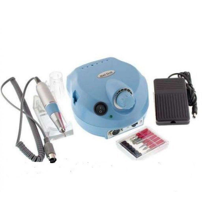Фрезеры - Фрезер для маникюра и педикюра Drill Pro Nail Drill 30000 об/мин (голубой)