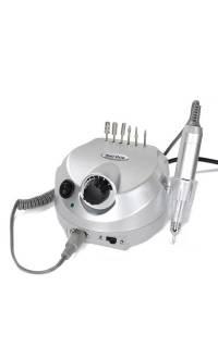 Фрезер для манікюру і педикюру Drill Pro Nail Drill 35000 об/хв (срібло)