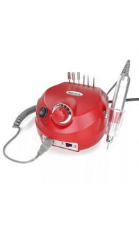 Фрезер для маникюра и педикюра Drill Pro Nail Drill 35000 об/мин (красный)