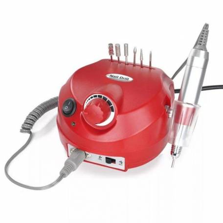 Купить Фрезер для маникюра и педикюра Drill Pro Nail Drill 35000 об/мин (красный)