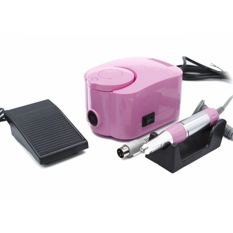 Купить Фрезер для маникюра и педикюра Simei DM-215 35000 об/мин (Розовый)