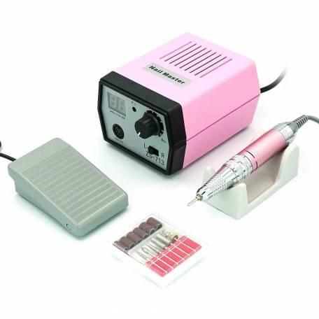 Купить Фрезер для маникюра и педикюра Nail Drill ZS-713 35000 об/мин (Розовый)