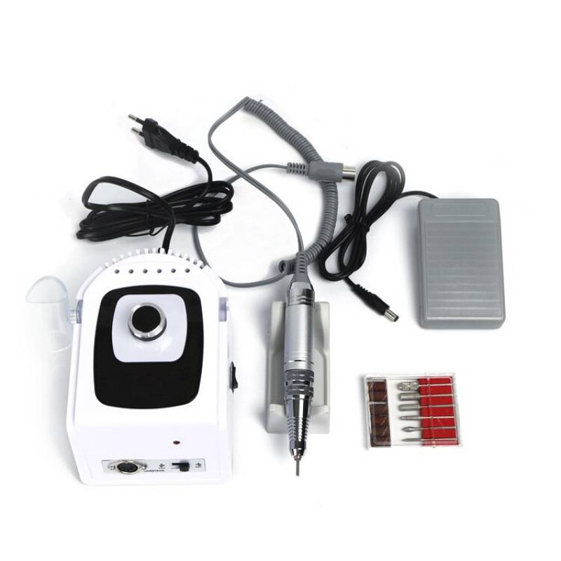 Купить Фрезер для маникюра и педикюра Nail Drill ZS-715 PRO 50000 об/мин (Белый)