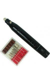 Фрезер-ручка для маникюра  5000 об/мин (черная)