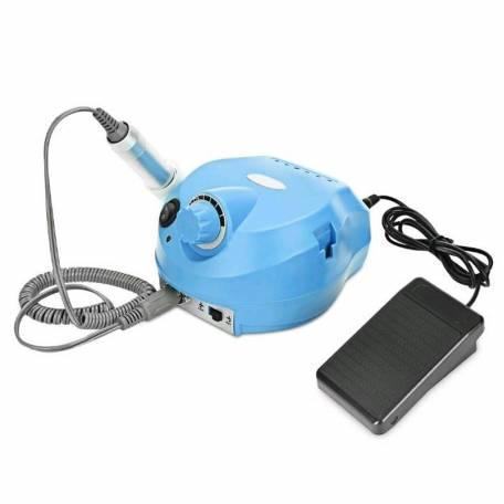 Фрезер для маникюра и педикюра Drill Pro Nail Drill 35000 об/мин (голубой)