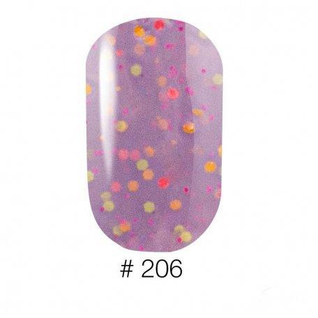 Гель-лак Naomi Candy Bar 206, 6 мл купить интернет-магазине Nailsmania.ua с бесплатной доставкой по Украине.