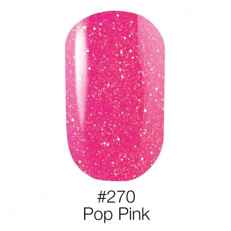 Гель-лак Naomi Neon Color 270 - Pop Pink, 6 мл купить интернет-магазине Nailsmania.ua с бесплатной доставкой по Украине.