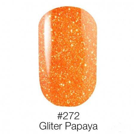Гель-лак Naomi Neon Color 272 - Gliter Papaya, 6 мл купить интернет-магазине Nailsmania.ua с бесплатной доставкой по Украине.