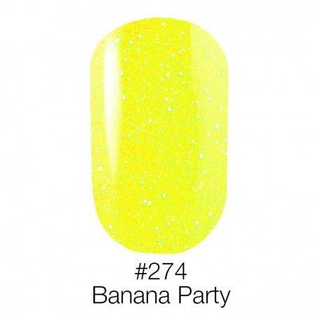 Гель-лак Naomi Neon Color 274 - Banana Party, 6 мл купить интернет-магазине Nailsmania.ua с бесплатной доставкой по Украине.