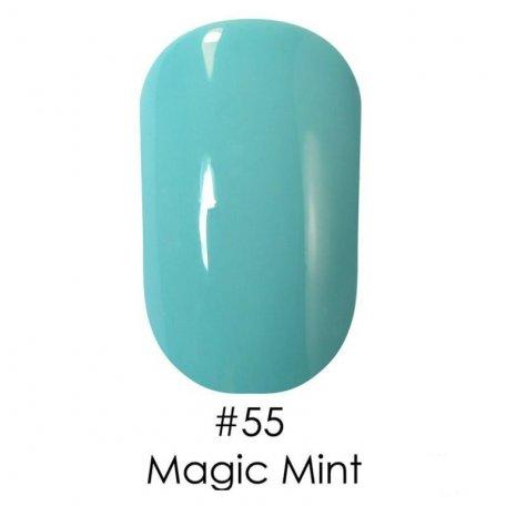 Гель-лак Naomi Gel Polish, 6 мл - Гель-лак Naomi Gel Polish 55 - Magic Mint, 6 мл