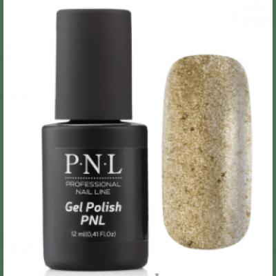 Гель-лак PNL 12 мл №077 Sparkling Gold