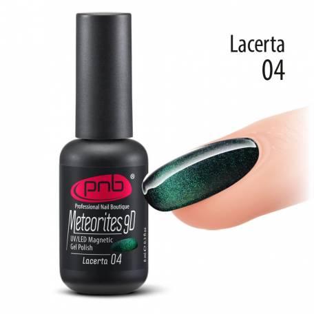 Купити Гель-лак PNB 04 Lacerta Meteorites 9D 8 мл