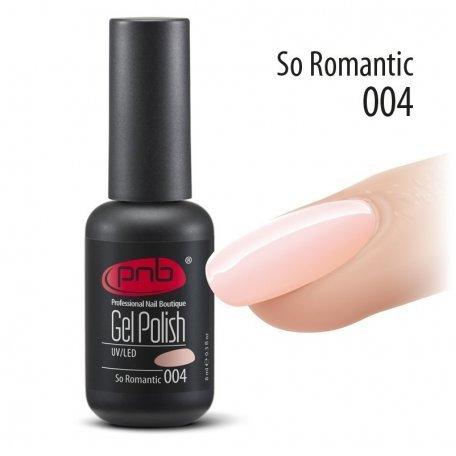 Гель-лак PNB 8 мл So Romantic 004 купить интернет-магазине Nailsmania.ua с бесплатной доставкой по Украине.