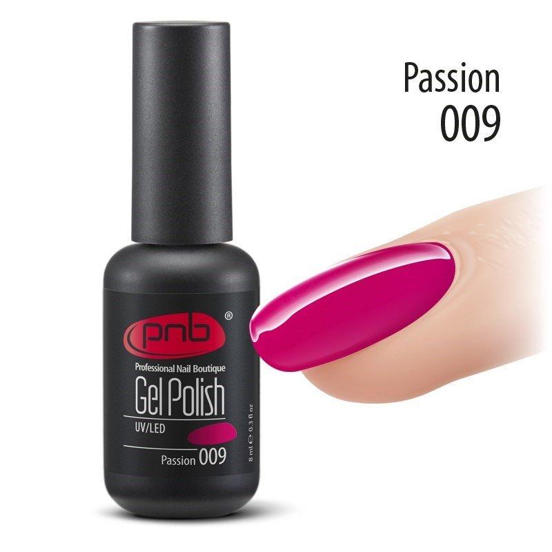 Гель-лак PNB 8 мл Passion 009 купить интернет-магазине Nailsmania.ua с бесплатной доставкой по Украине.