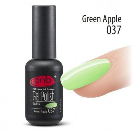 Гель-лак PNB 8 мл Green Apple 037 купить интернет-магазине Nailsmania.ua с бесплатной доставкой по Украине.