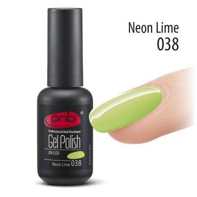 Гель-лак PNB 8 мл Neon Lime 038