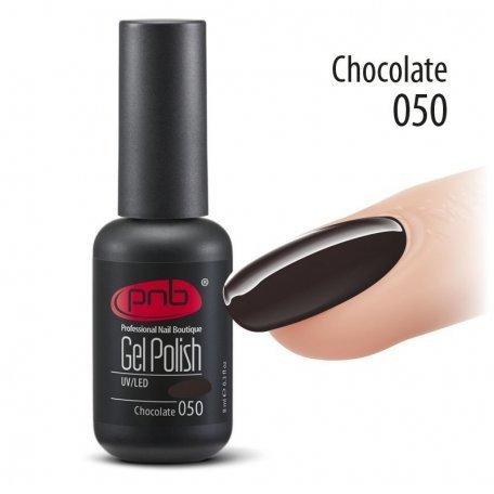 Гель-лак PNB 8 мл Chocolate 050 купить интернет-магазине Nailsmania.ua с бесплатной доставкой по Украине.