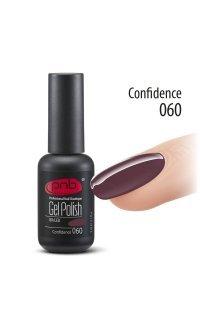 Гель-лак PNB Confidence 060 (Фиолетовый), 8 мл