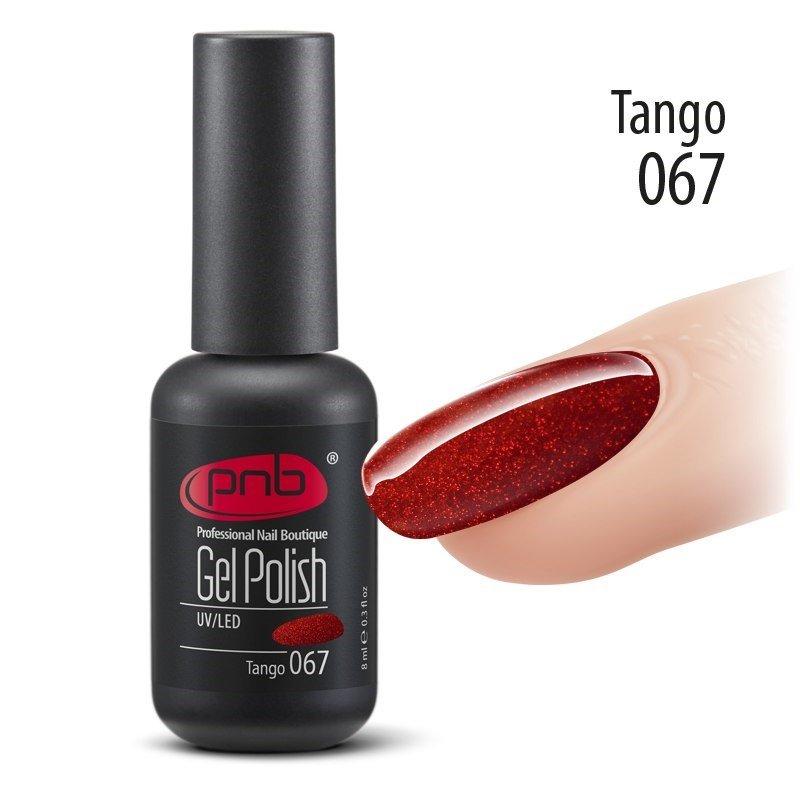 Гель-лак PNB 8 мл Tango 067 купить интернет-магазине Nailsmania.ua с бесплатной доставкой по Украине.