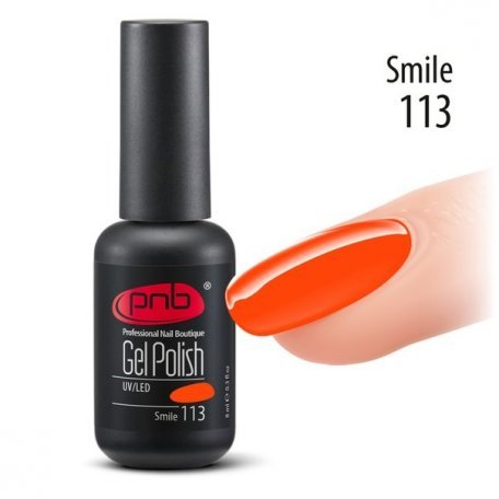 Гель-лак PNB 8 мл Smile 113 купить интернет-магазине Nailsmania.ua с бесплатной доставкой по Украине.