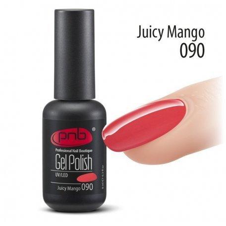 Купити Гель-лак PNB 8 мл Juicy Mango 090