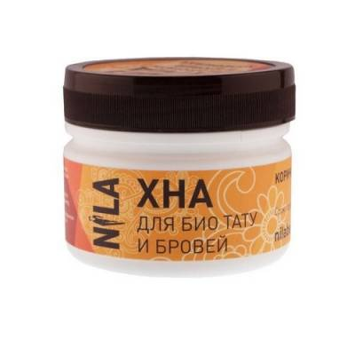 Хна для бровей и биотату NILA (красная), 50 г