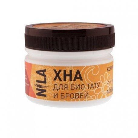 Хна для бровей и биотату NILA (коричневая), 50 г купить интернет-магазине Nailsmania.ua с бесплатной доставкой по Украине.