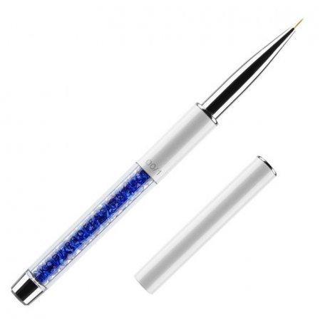 Кисть для росписи в тубусе №00/1 Kodi (нейлон; ручка: метал, акрил)