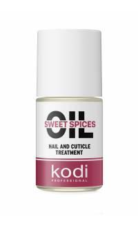 "Масло для кутикулы Kodi Professional ""Cладкие специи"" (Sweet spices), 15 мл"
