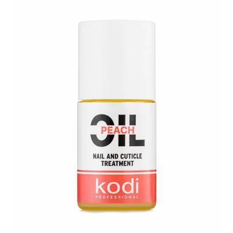 "Купить Масло для кутикулы Kodi Professional ""Персик"" (Peach), 15 мл"