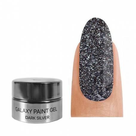 Купити Гель-фарба Kodi Professional Galaxy 01 Dark Silver 4 мл