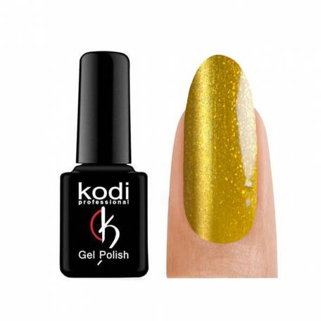 Купити Гель-лак Kodi Moonlight №744 (Золотистий блискітками), 7 мл