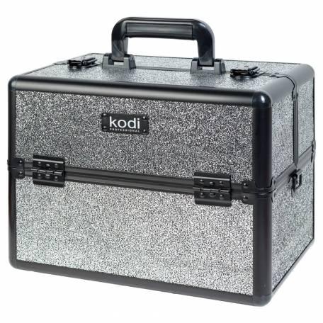 Купить Кейс для косметики Kodi Professional №42 (Dark Silver Opal)