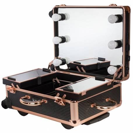 Купить Кейс-студия для визажистов Kodi Professional №03 (Черный диамант)