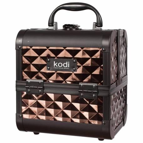 Купить Кейс для косметики Kodi Professional №33 (Кофейный)