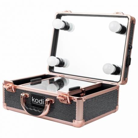 Купить Кейс-студия для визажистов Kodi Professional №34 (Черный диамант)