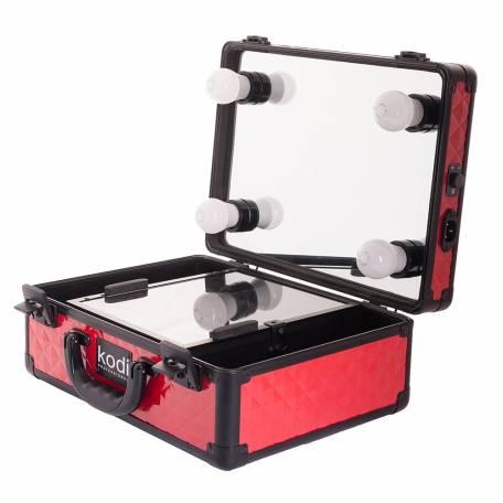 Купить Кейс-студия для визажистов Kodi Professional №34 (Красный)